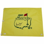 Billy Casper Signed 2005 Masters Embroidered Flag with 1970 JSA #Q20181