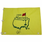 Fred Couples Signed 1999 Masters Embroidered Flag JSA #P94950