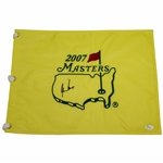 Gary Player Signed 2007 Masters Embroidered Flag JSA #P94940