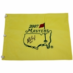 Charles Coody Signed 2007 Masters Embroidered Flag with 1971 JSA ALOA
