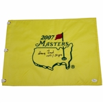 Doug Ford Signed 2007 Masters Embroidered Flag with 1957 & 50yrs JSA #P94946