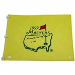 Herman Keiser Signed 1999 Masters Embroidered Flag with 1946 JSA #Z16187