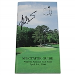 Ben Crenshaw Signed 2000 Masters Tournament Spectator Guide JSA ALOA