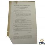 1901 OPEN Championship at Muirfield Open Golf Championship Meeting Information/Notice