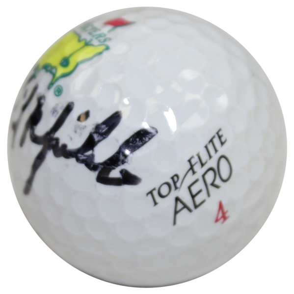 Phil Mickelson Signed Masters Tournament Logo Golf Ball - Don Bobilo Collection JSA FULL #BB50947