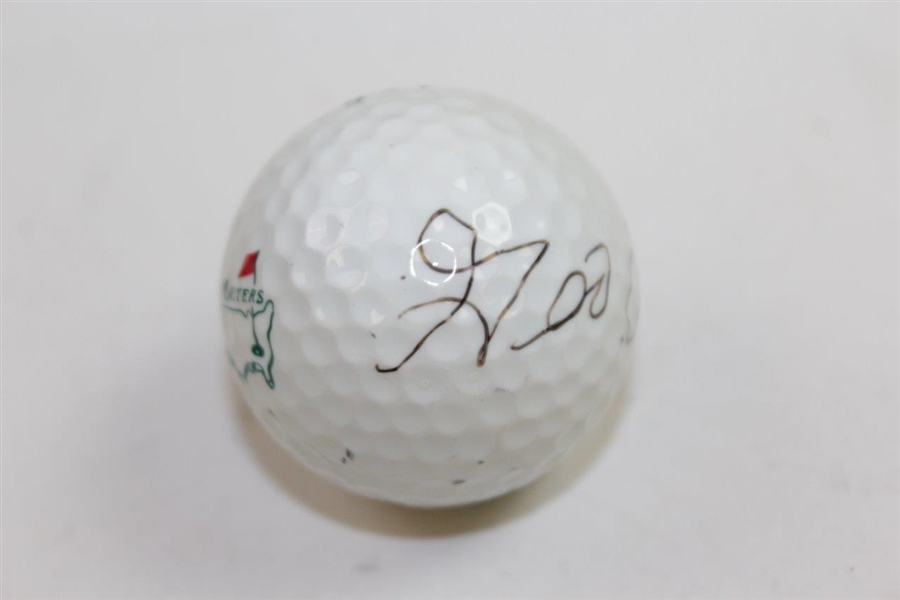 George Archer Signed Masters Tournament Logo Golf Ball JSA ALOA