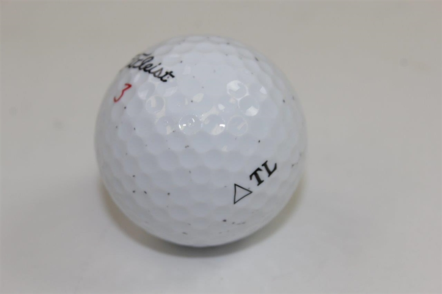 Tom Lehman Signed Personal TL Logo Golf Ball JSA ALOA