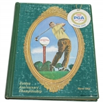 Warren Orlicks Personal Hardbound Copy of 1966 PGA Championship at Firestone Program