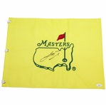 Joaquin Niemann Signed Undated Masters Embroidered Flag #JJ66330