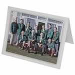 2003 Masters Past-Champions Dinner Menu Featuring Photo of First Champs Dinner in 1952