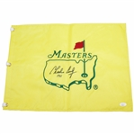 Charles Coody Signed Undated Masters Embroidered Flag with 1971 JSA FULL #BB28945