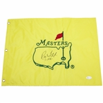 Ray Floyd Signed Undated Masters Embroidered Flag with 1976 JSA #N37210