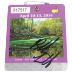 Bubba Watson Signed 2014 Masters Series Badge #R17517 JSA #DD48476