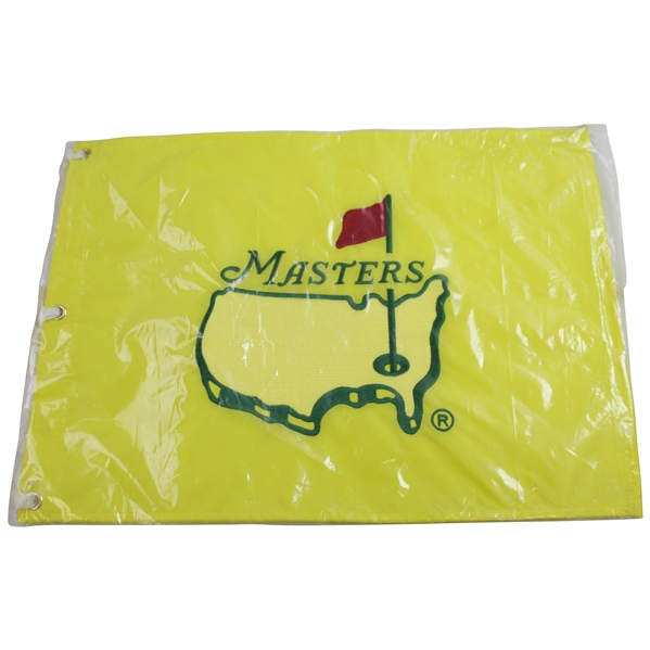 1997 Masters Tournament Center Embroidered Flag - Rare Unopened