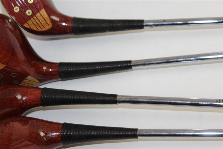 Jack Nicklaus Ltd Ed MacGregor Oil Hardened 1,3,4, & 5 Woods - #1902/2000