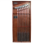Full Set of Limited Edition Ben Hogan Apex Handcrafted Forged Irons in Deluxe Display Box