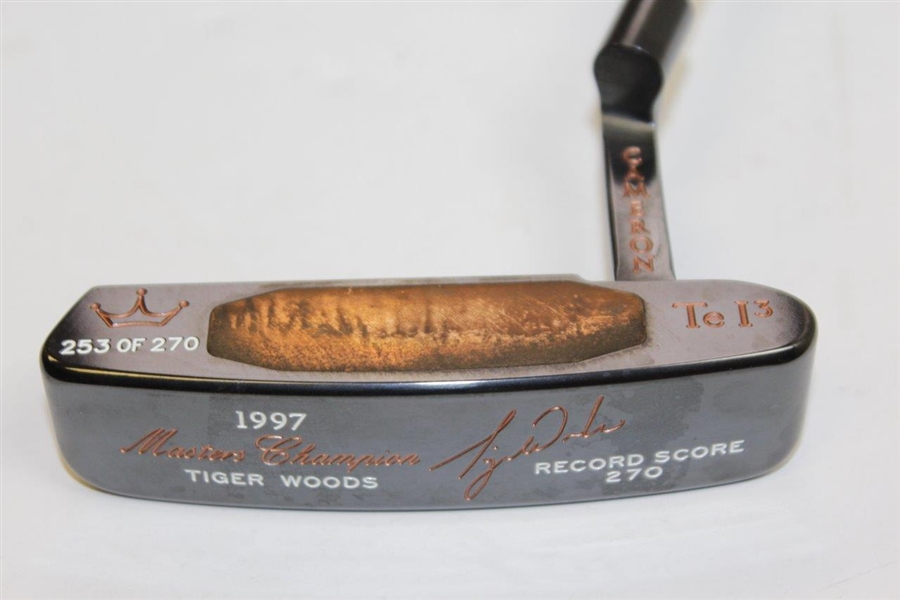 Titleist Scotty Cameron 1997 Tiger Woods Masters Teryllium TEi3 Newport Putter 253/270 with Case