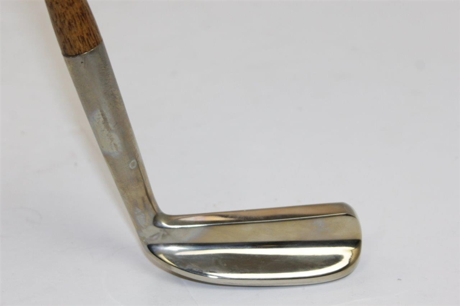 Ltd Ed Qe2 Cunard Putter by Swilken of St. Andrews Cast from Propeller Blade with Shaft Stamp