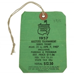 1957 Masters Tournament SERIES Badge #1725