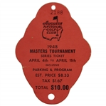 1948 Masters Tournament SERIES Badge #2188