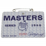 1966 Masters Tournament SERIES Badge #21250