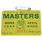 1969 Masters Tournament SERIES Badge #26564
