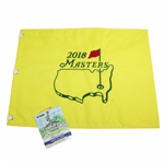 2018 Masters Embroidered Flag with SERIES 2018 Masters Badge #R15558