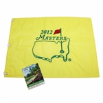 2012 Masters Embroidered Flag with SERIES 2012 Masters Badge #R16698