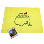 2015 Masters Embroidered Flag with 2015 SERIES Badge #Q03320