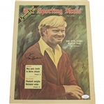 Jack Nicklaus Signed August 5, 1972 The Sporting News Magazine JSA #DD64782