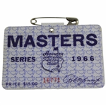 1966 Masters Tournament SERIES Badge #16771 - Jack Nicklaus Winner