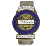 1966 PGA Championship at Firestone CC Contestant Badge - Al Geiberger Winner