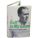 Bobby Jones Signed 1960 Golf Is My Game Book to Major Frothingham JSA ALOA
