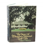 Clifford Roberts Signed Book Plate in The Story of the Augusta National Golf Club JSA ALOA