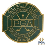1949 PGA Championship at Hermitage CC Contestant Badge - Sam Snead Winner