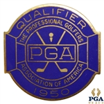 1950 PGA Championship at Scioto CC Contestant Badge - Chandler Harper Winner