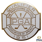 1951 PGA Championship at Oakmont CC Contestant Badge - Sam Snead Winner