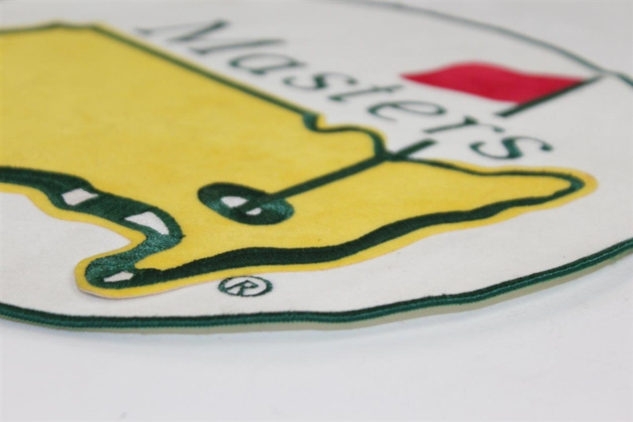 Large Masters Tournament Logo Embroidered Patch - 12 1/2 Diameter!