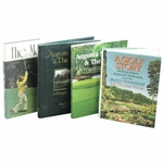 Four (4) Masters/Augusta National Books - A Golf Story, The Masters, Augusta National & The Masters (Hard & Soft Cover)