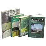 Four (4) Masters/Augusta National Books - Profile of a Tournament, The Masters, The Masters, & Augusta