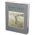 Bobby Jones How I Play Golf Collectors Edition Golf Instructional DVD Set - Unopened