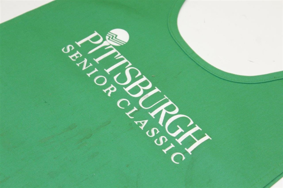 Arnold Palmer Pittsburgh Senior Golf Classic Caddie Bib - Wayne Beck Collection