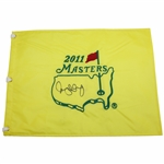 Rory McIlroy Signed 2011 Masters Embroidered Flag PSA/DNA LOA