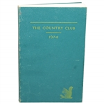 1974 The Country Club Brookline Club History Book