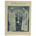 1930 Mid-Week Pictorial Cover with Womens Golf Champs Content - November 1st