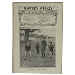 1900 Harpers Weekly Cover The End of the Season - December 29th