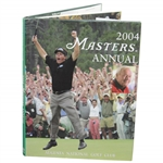 2004 Masters Tournament Annual Book - Phil Mickelson Winner