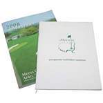 2008 Masters Tournament Softcover Media Guide & 2016 Masters Tournament Handbook