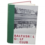 Baltusrol Golf Club Constitution & By-laws, Officers & Governors, Club Rules, & Membership Roster