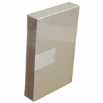 The Life of Tom Morris Ltd Ed Book In Slipcase - New Sealed in Publishers Shrink Wrap
